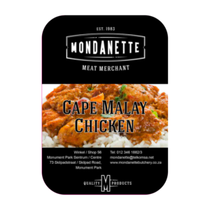 Cape Malay Chicken