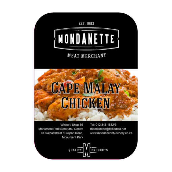 Cape Malay Chicken