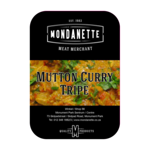Mutton Curry Tripe