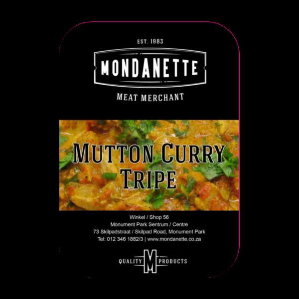 Mutton Curry Tripe