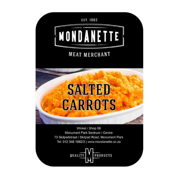 salted carrots