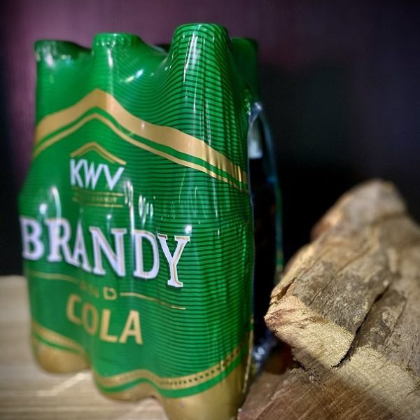 KWV Brandy & Cola 330ml